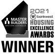 blanc's winner's award for the 2021 bankwest housing excellence awards